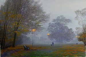 Early Morning in a London Park